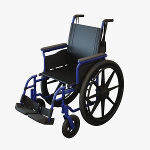 wheelchair chair 3d max