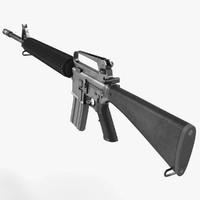 3d assault rifle generic 2