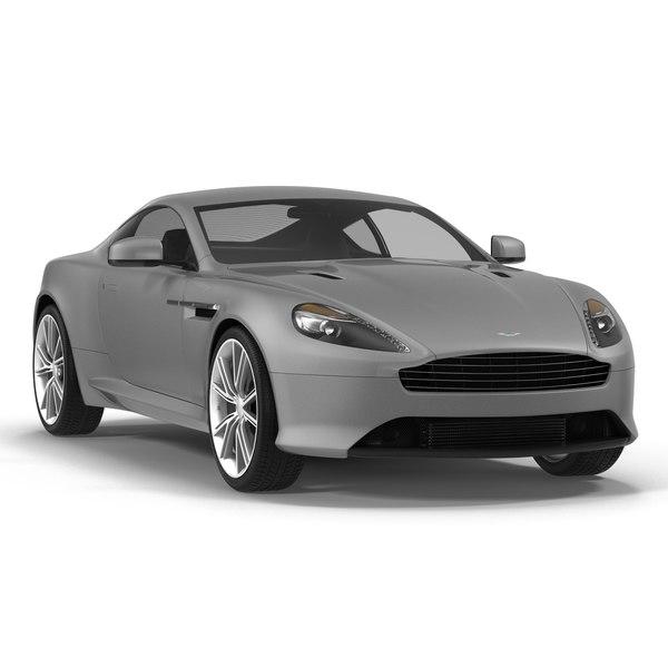 3d Model Aston Martin Db9 2014