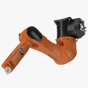 3d model of kuka robot kr 6