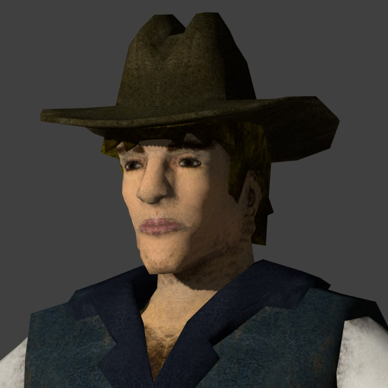 3ds max cowboy animation