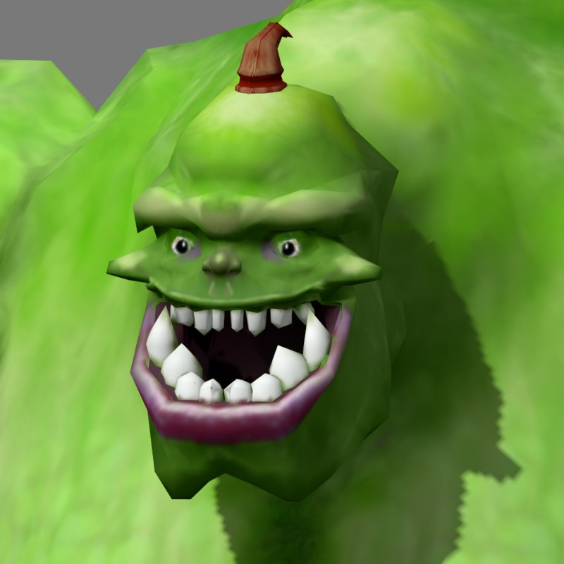 3ds ogre phone animation