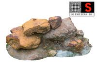 iron carbonate hd 8k 3d obj