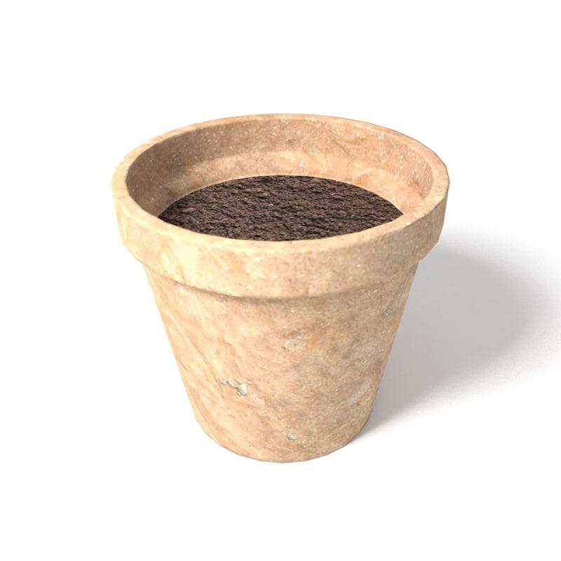plant pot 3ds