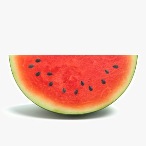 3d 3ds watermelon water melon