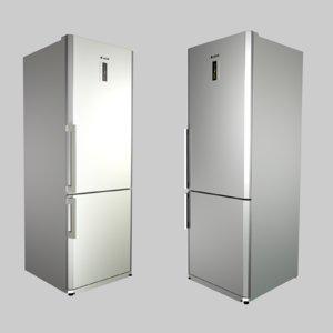 3d c4d refrigerator arcelik