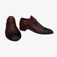 3d man shoes 6 model