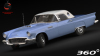 3ds max thunderbird 1957