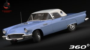 3ds max thunderbird 1957