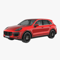 3d model porsche cayenne turbo s
