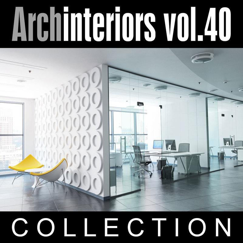 archinteriors vol 40 office 3d model