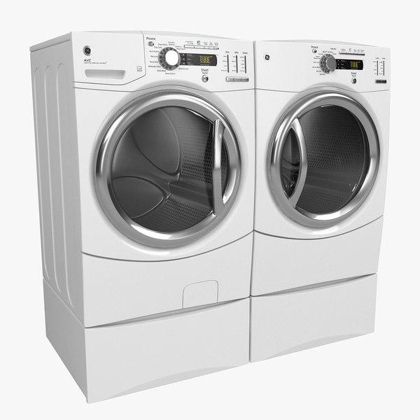 3d washer dryer model