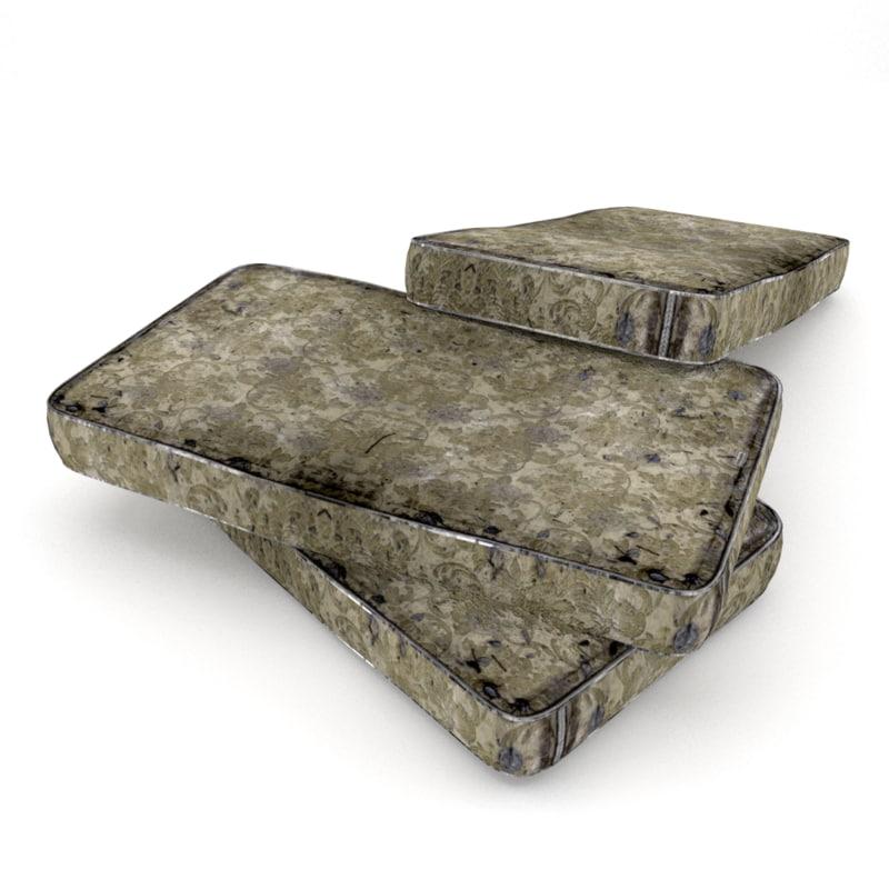 3ds max old mattress