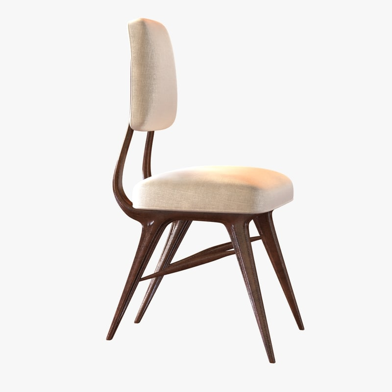 chair dining room deniot 3d 3ds