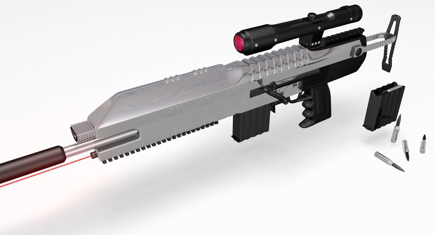 max conceptual sniper rifle