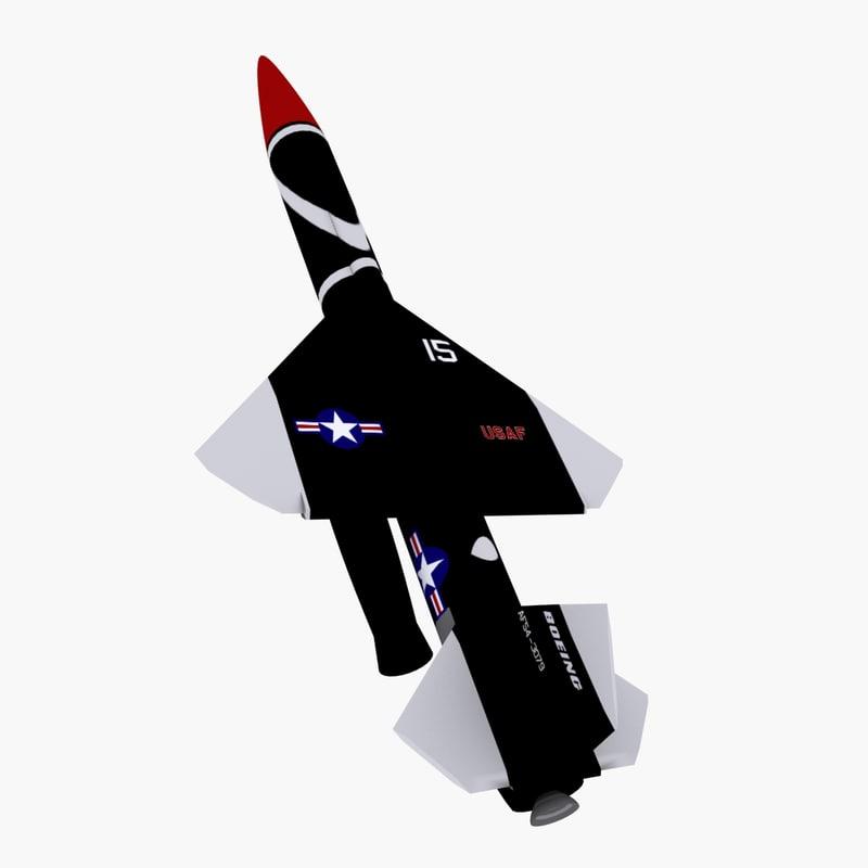 bomarc missile 3d max
