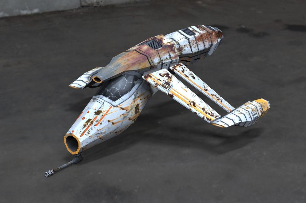 obj spaceship combat