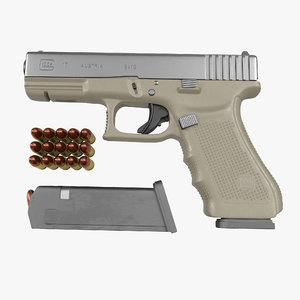 3ds glock 17 semi automatic