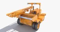 hydraulic hammer 3d model