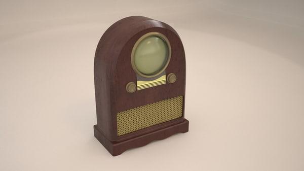 portal television 3d model
