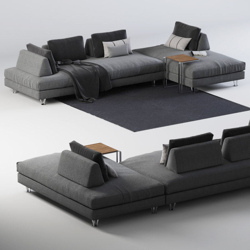 3d 3ds sofa dema fly