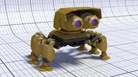 3d model robot concept 03