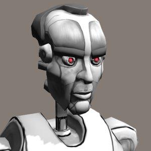3d model robotic ready animations