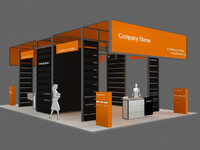 Exhibition stand - ST002