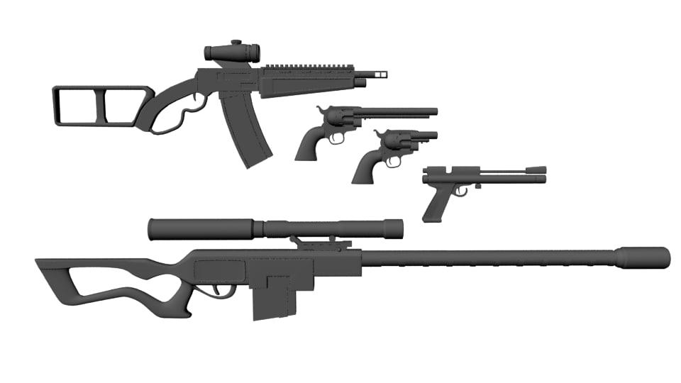 max firearms guns assault rifle
