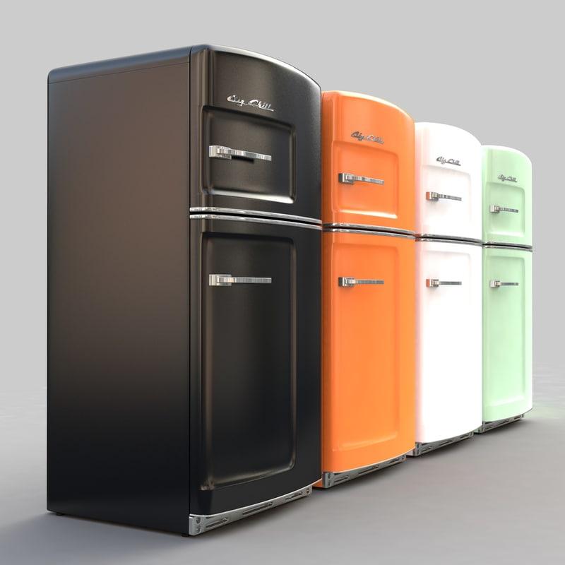 3ds max color refrigerators