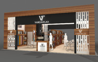 Exhibition stand - ST0023