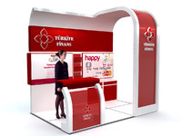 Exhibition stand - ST0010