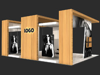 Exhibition stand - ST0016