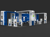 Exhibition stand - ST006