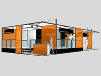 Exhibition stand - ST005