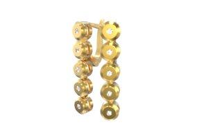 3dm ring earrings