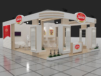 Exhibition stand - ST0025