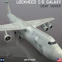 Lockheed C-5 Galaxy USAF DOVER