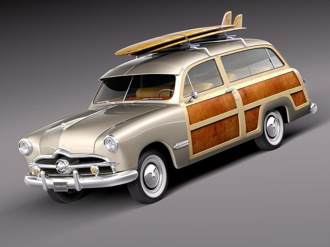 c4d 1949 woody wood