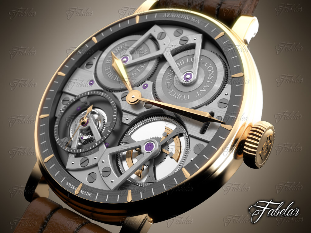 max arnold watch