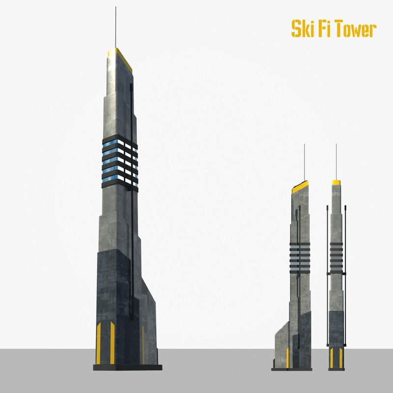 max sci fi tower building