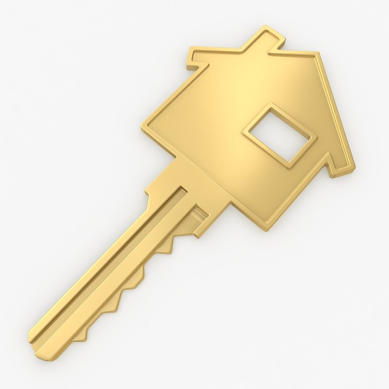 3ds realistic home key