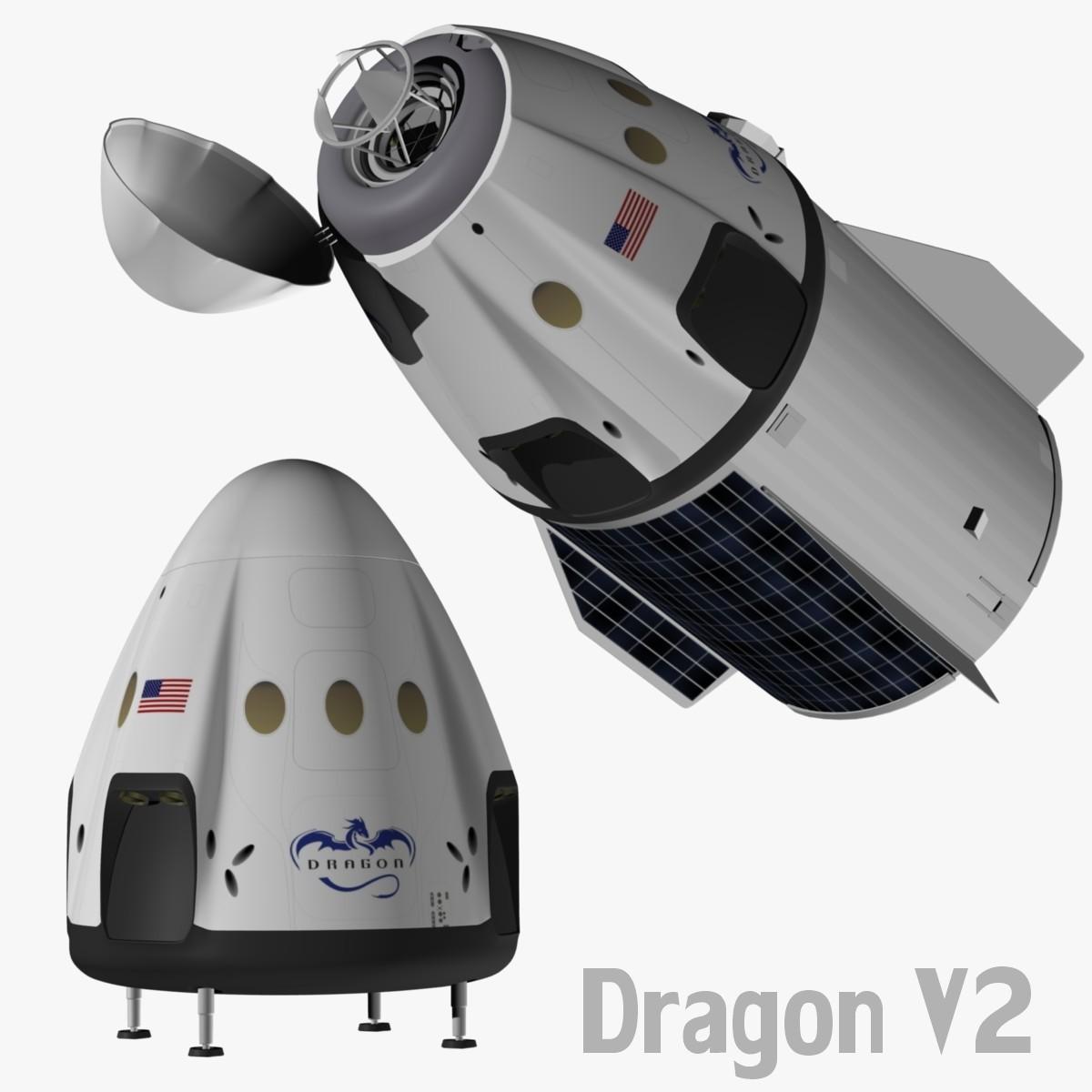 dragon spacecraft models - 800×800