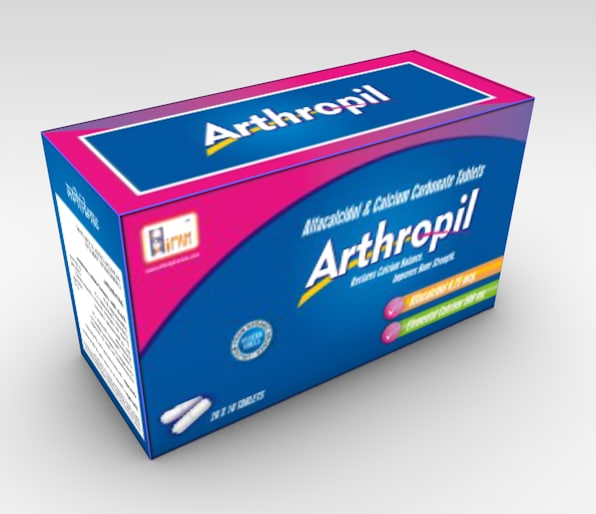 3ds max arthropil pills box