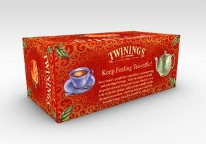 3d model twinings tea