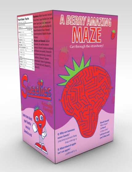 3ds max sweeties cereal box
