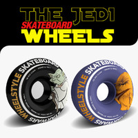 3d skateboard wheels