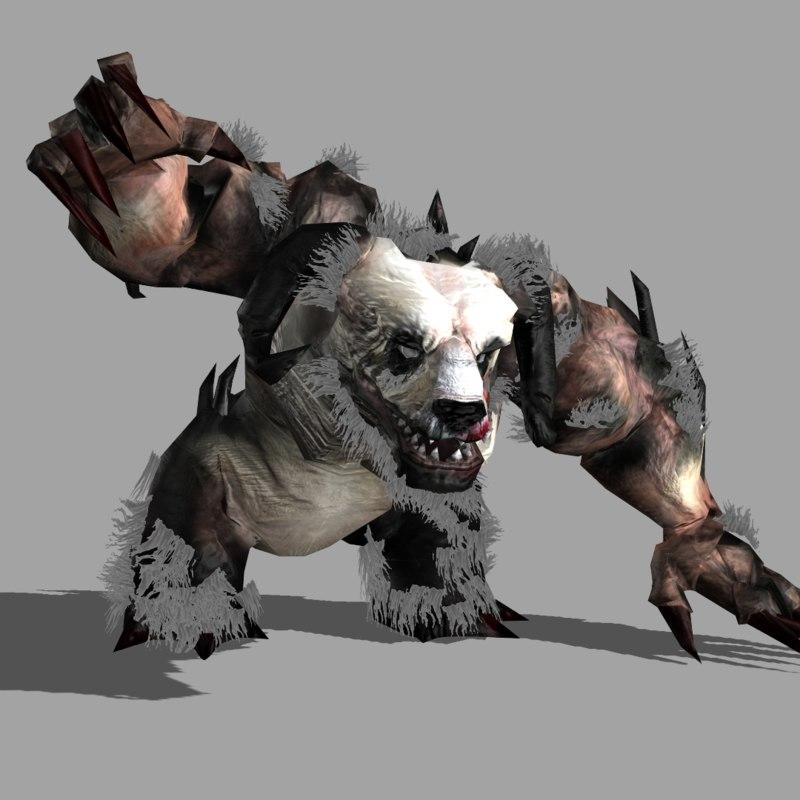 enemy demon panda 3ds