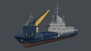 working service ship crane max