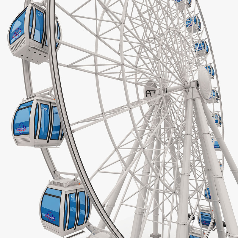 ferris wheel obj